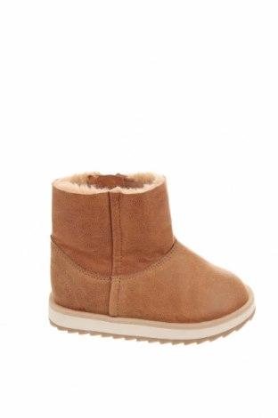 Dětské boty  Zara, Velikost 20, Barva Hnědá, Eko kůže, Cena  550,00Kč
