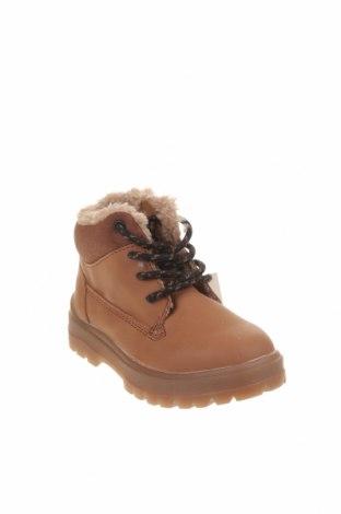 Dětské boty  Zara, Velikost 21, Barva Hnědá, Eko kůže, Cena  750,00Kč