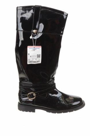 Dětské boty  Zara, Velikost 33, Barva Černá, Eko kůže, Cena  619,00Kč