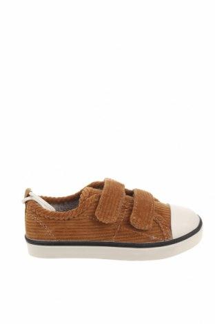 Детски обувки Zara, Размер 24, Цвят Бежов, Текстил, Цена 16,20лв.