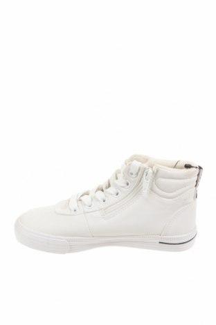 Детски обувки Zara, Размер 28, Цвят Бял, Еко кожа, Цена 28,62лв.