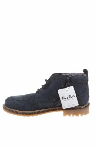 Детски обувки Zara Kids, Размер 37, Цвят Син, Естествена кожа, Цена 35,60лв.