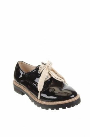 Детски обувки Zara, Размер 28, Цвят Черен, Еко кожа, Цена 46,50лв.