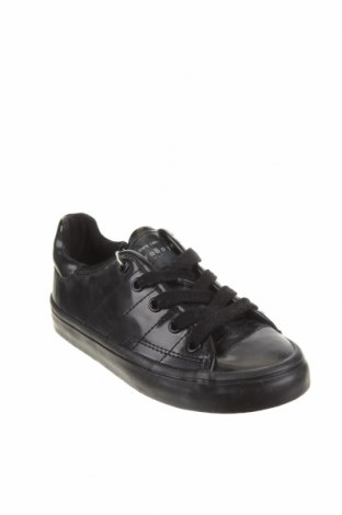 Детски обувки Zara, Размер 28, Цвят Черен, Полиуретан, Цена 28,62лв.