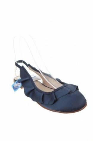 Детски обувки Zara, Размер 36, Цвят Син, Текстил, Цена 21,60лв.