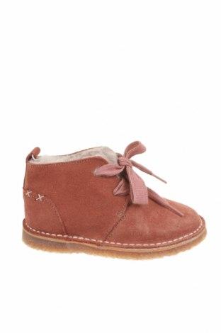 Dětské boty  Zara, Velikost 22, Barva Růžová, Přírodní velur , Cena  645,00Kč