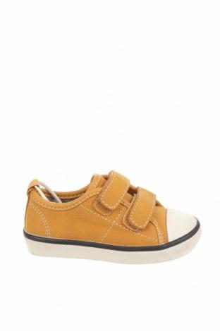 Детски обувки Zara, Размер 20, Цвят Жълт, Текстил, Цена 25,92лв.
