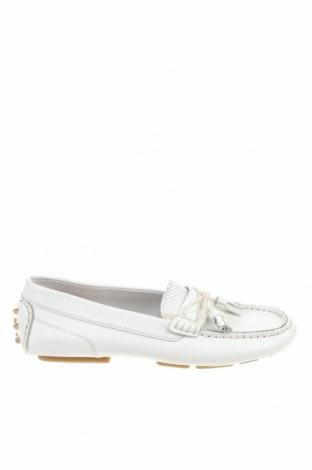 Детски обувки Zara, Размер 33, Цвят Бял, Естествена кожа, Цена 47,17лв.