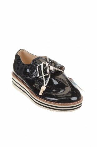 Детски обувки Zara, Размер 30, Цвят Син, Еко кожа, Цена 18,60лв.