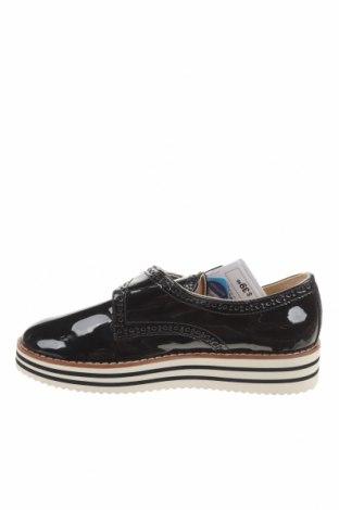 Детски обувки Zara, Размер 33, Цвят Черен, Еко кожа, Цена 27,90лв.