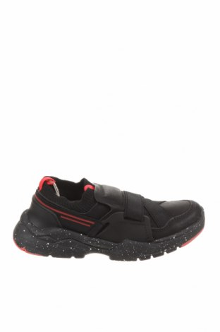 Детски обувки Zara, Размер 33, Цвят Черен, Еко кожа, текстил, Цена 24,80лв.