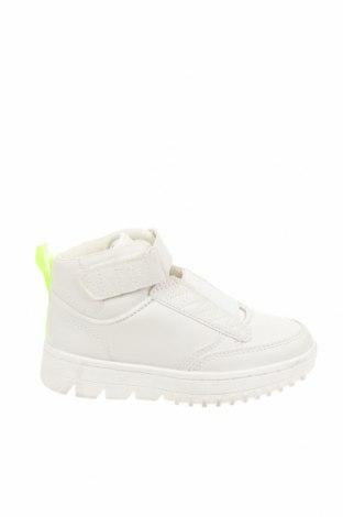 Детски обувки Zara, Размер 29, Цвят Бял, Еко кожа, текстил, Цена 18,92лв.
