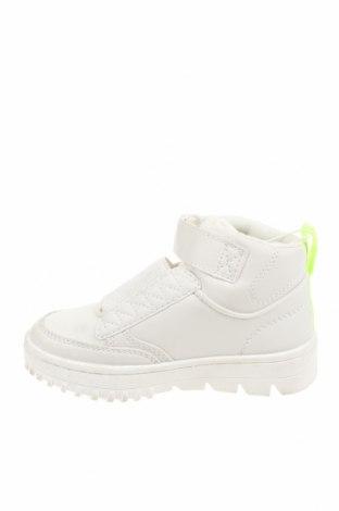 Детски обувки Zara, Размер 27, Цвят Бял, Еко кожа, текстил, Цена 15,40лв.