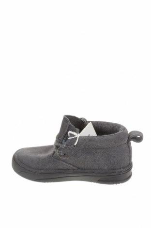 Детски обувки Zara, Размер 20, Цвят Сив, Естествен велур, Цена 27,65лв.