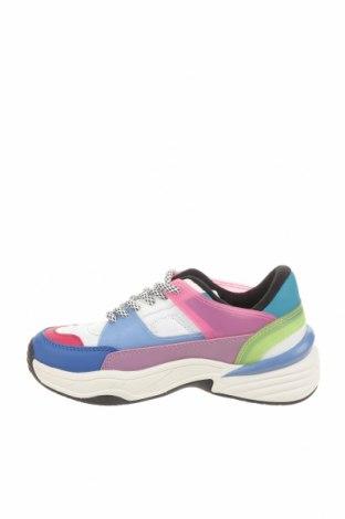 Детски обувки Zara, Размер 32, Цвят Многоцветен, Полиуретан, текстил, Цена 21,70лв.