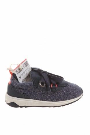 Dětské boty  Zara, Velikost 24, Barva Modrá, Textile , Cena  581,00Kč