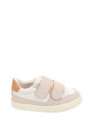 Dětské boty  Zara, Velikost 21, Barva Bílá, Přírodní velur , Eko kůže, Cena  270,00Kč
