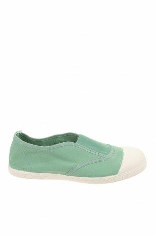Детски обувки Zara, Размер 34, Цвят Зелен, Текстил, Цена 18,90лв.