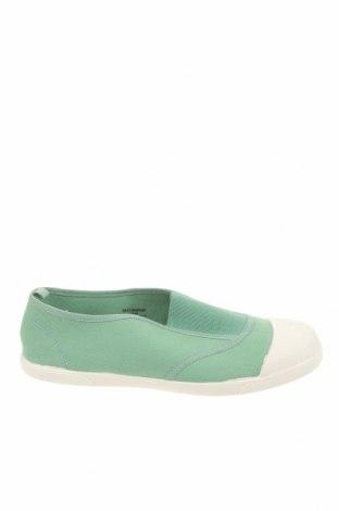 Детски обувки Zara, Размер 35, Цвят Зелен, Текстил, Цена 18,90лв.