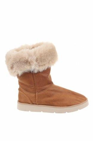Dětské boty  Zara Kids, Velikost 34, Barva Hnědá, Eko kůže, textile , Cena  361,00Kč