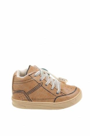 Детски обувки Zara Kids, Размер 21, Цвят Бежов, Еко кожа, Цена 16,20лв.