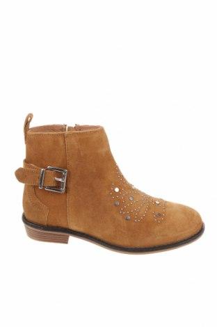 Dětské boty  Zara Kids, Velikost 30, Barva Hnědá, Přírodní velur , Cena  242,00Kč