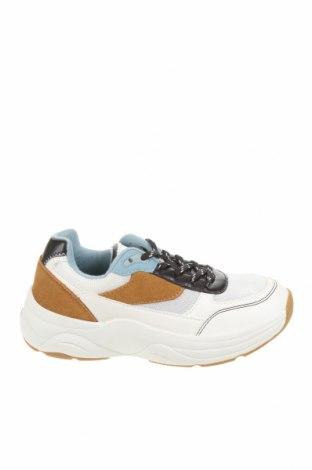 Детски обувки Zara Kids, Размер 32, Цвят Бял, Текстил, естествен велур, еко кожа, Цена 24,15лв.