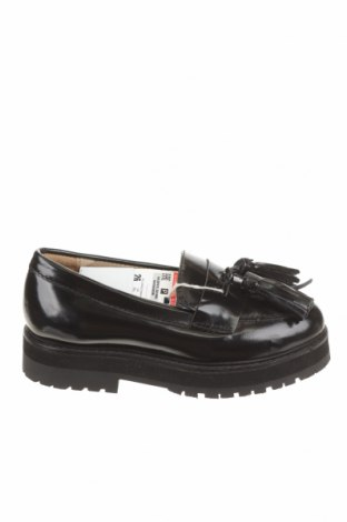 Детски обувки Zara Kids, Размер 26, Цвят Черен, Естествена кожа, Цена 24,15лв.