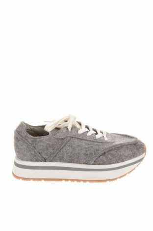 Детски обувки Zara Kids, Размер 32, Цвят Сив, Текстил, Цена 17,70лв.