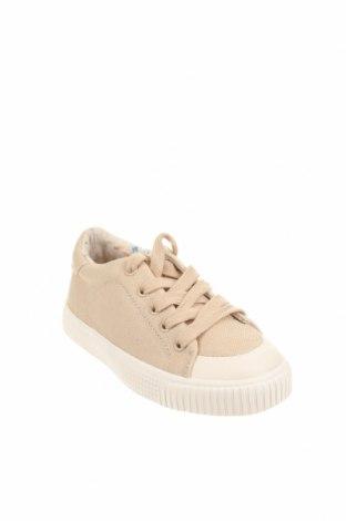 Детски обувки Zara Kids, Размер 28, Цвят Бежов, Текстил, Цена 27,00лв.