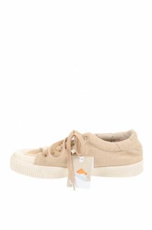 Детски обувки Zara Kids, Размер 38, Цвят Бежов, Текстил, Цена 27,00лв.