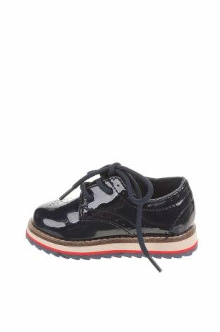 Детски обувки Zara Kids, Размер 20, Цвят Син, Еко кожа, Цена 29,50лв.