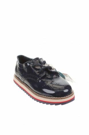 Детски обувки Zara Kids, Размер 25, Цвят Син, Еко кожа, Цена 29,50лв.