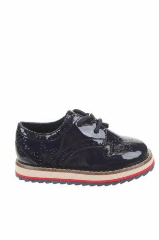 Детски обувки Zara Kids, Размер 22, Цвят Син, Еко кожа, Цена 29,50лв.