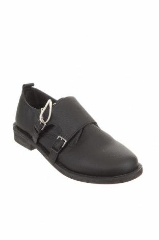 Детски обувки Zara Kids, Размер 34, Цвят Черен, Еко кожа, Цена 26,88лв.