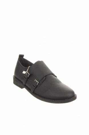Детски обувки Zara Kids, Размер 37, Цвят Черен, Еко кожа, Цена 26,88лв.