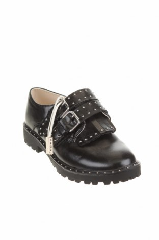 Детски обувки Zara Kids, Размер 31, Цвят Черен, Еко кожа, Цена 20,46лв.