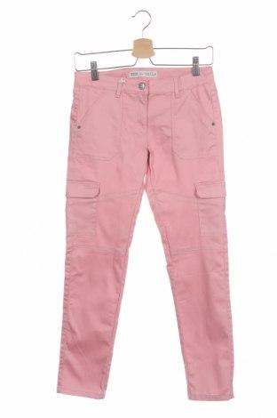 Dětské kalhoty , Velikost 11-12y/ 152-158 cm, Barva Růžová, 64% bavlna, 33% polyester, 3% elastan, Cena  510,00Kč