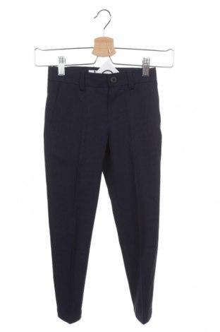 Pantaloni pentru copii Boss, Mărime 4-5y/ 110-116 cm, Culoare Albastru, 76% poliester, 22% viscoză, 2% elastan, Preț 422,76 Lei