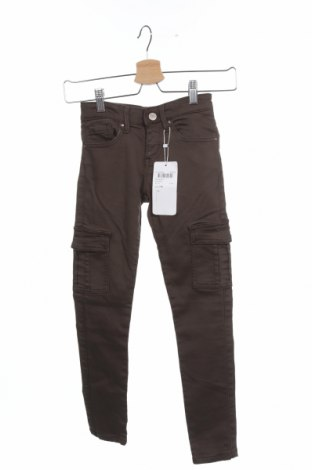 Детски панталон Staccato, Размер 9-10y/ 140-146 см, Цвят Зелен, 83% памук, 15% полиестер, 25% еластан, Цена 44,25лв.