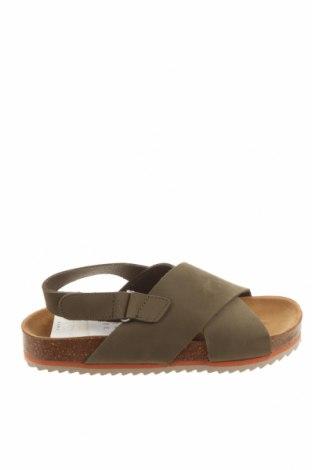 Sandale pentru copii Zara, Mărime 32, Culoare Verde, Velur natural, Preț 85,53 Lei