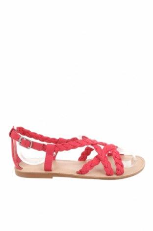 Детски сандали Zara, Размер 32, Цвят Розов, Текстил, Цена 31,20лв.