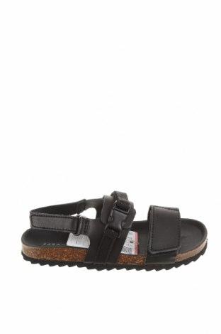 Παιδικά σανδάλια Zara Kids, Μέγεθος 24, Χρώμα Μαύρο, Γνήσιο δέρμα, Τιμή 15,30€