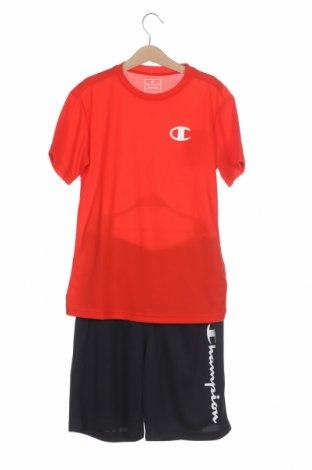 Детски спортен екип Champion, Размер 8-9y/ 134-140 см, Цвят Син, Полиестер, Цена 51,75лв.