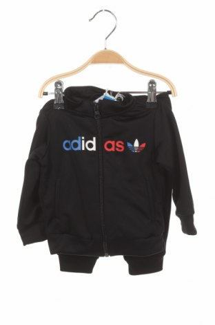 Детски спортен комплект Adidas Originals, Размер 9-12m/ 74-80 см, Цвят Черен, Полиестер, Цена 64,97лв.