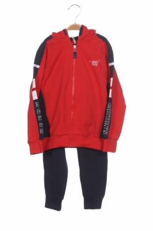 Детски спортен комплект Henry Cotton's, Размер 4-5y/ 110-116 см, Цвят Син, 95% памук, 5% еластан, Цена 53,40лв.