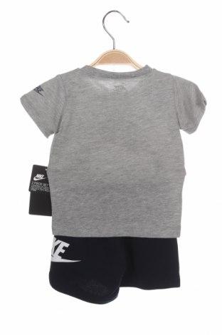 Детски спортен комплект Nike, Размер 9-12m/ 74-80 см, Цвят Сив, 60% памук, 40% полиестер, Цена 50,37лв.