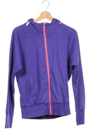 Dětská mikina  Adidas, Velikost 13-14y/ 164-168 cm, Barva Fialová, 60% bavlna, 40% polyester, Cena  574,00Kč