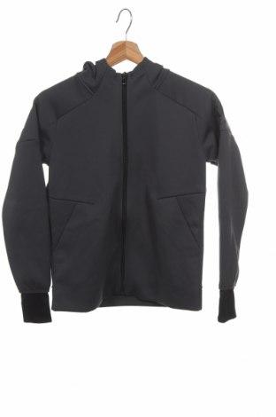 Παιδικό φούτερ Adidas, Μέγεθος 9-10y/ 140-146 εκ., Χρώμα Γκρί, Πολυεστέρας, Τιμή 24,06€