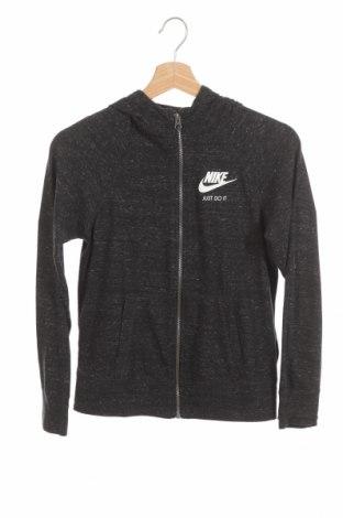 Dětská mikina  Nike, Velikost 10-11y/ 146-152 cm, Barva Šedá, 60% bavlna, 40% polyester, Cena  325,00Kč